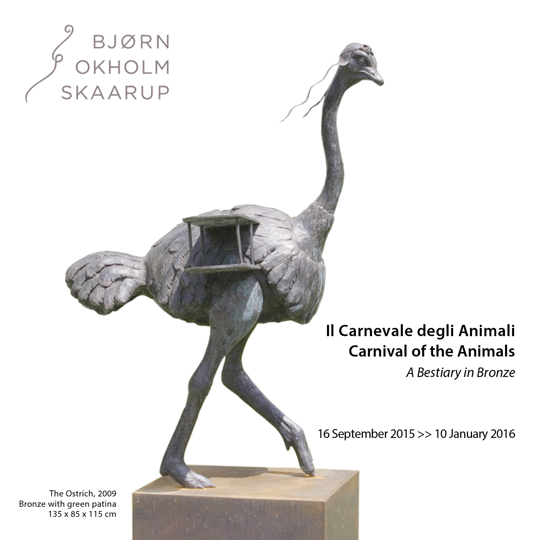 The+New+Exhibition+by+Bjorn+Okholm+Skaarup+%2C+%22The+Carnival+of+the+Animals+-A+Bestiary+in+bronze%22